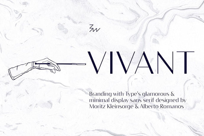 Bw-Vivant - 45+ Amazing Sans Serif Fonts For Minimalist Designs [year]