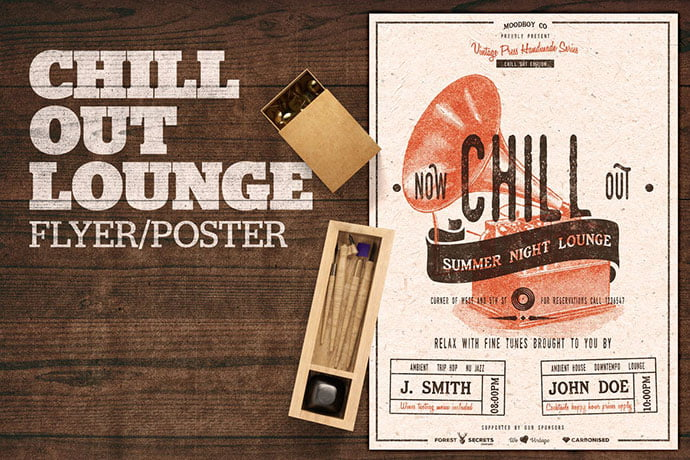Chill-Out-Lounge - 48+ Lovely Flyer & Poster Design Templates [year]