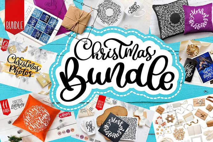 Christmas-Bundle - 37+ Awesome Christmas Backgrounds, Patterns [year]