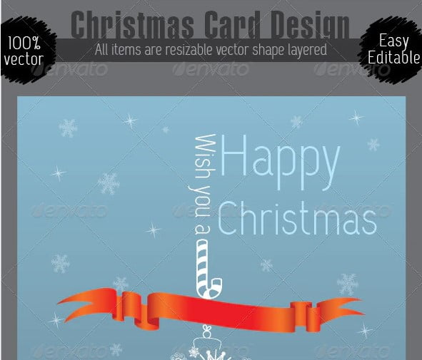 Christmas-Card-Design - 38+ Free Inspiring Christmas Card Design [year]