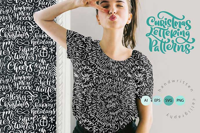 Christmas-Lettering-Patterns