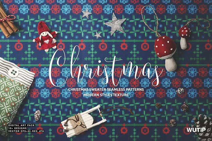Christmas - 37+ Awesome Christmas Backgrounds, Patterns [year]