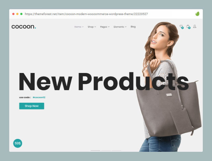 Cocoon - 33+ Awesome Super Fast Website WordPress Themes [year]