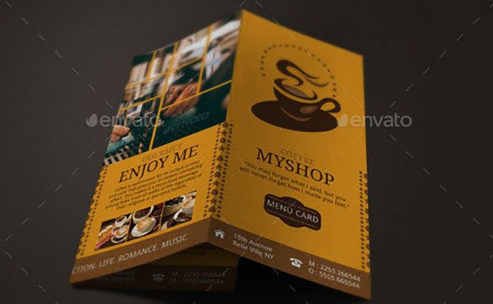 Coffea-liberica - 33+ Awesome Brochure Design For Coffee Shop [year]