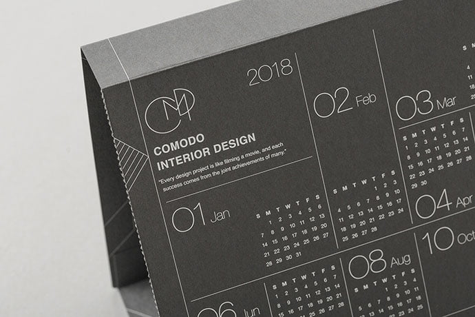 Comodo-Package - 38+ Free Innovative Calendar Design Example [year]
