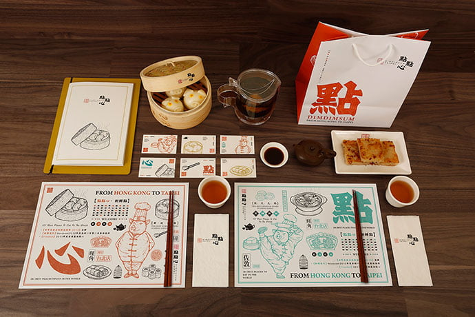 Dimdimsum-Brand-Design - 38+ Free Brilliant Retro & Vintage Brand Designs [year]