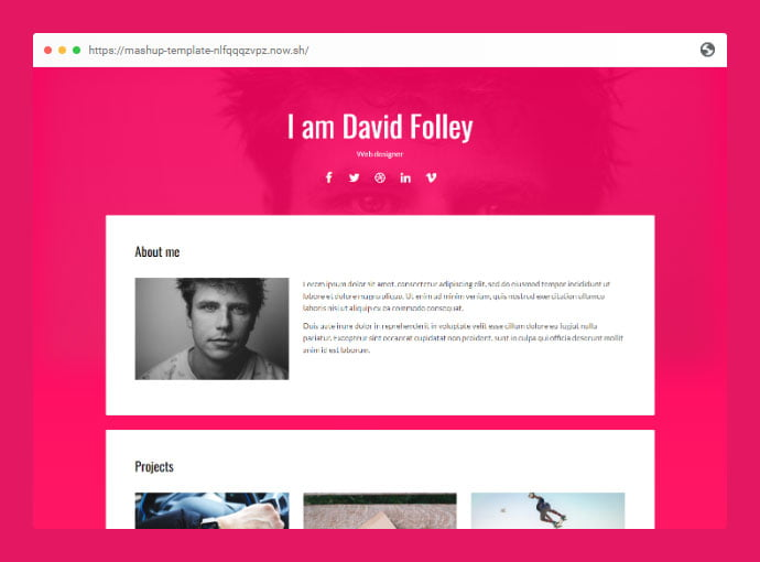 Energy - 53+ Free HTML CSS Portfolio Web Design Templates [year]