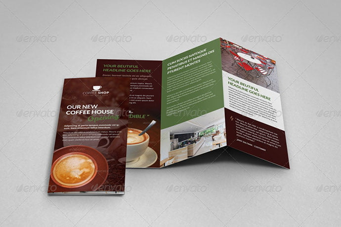 Espresso - 33+ Awesome Brochure Design For Coffee Shop [year]