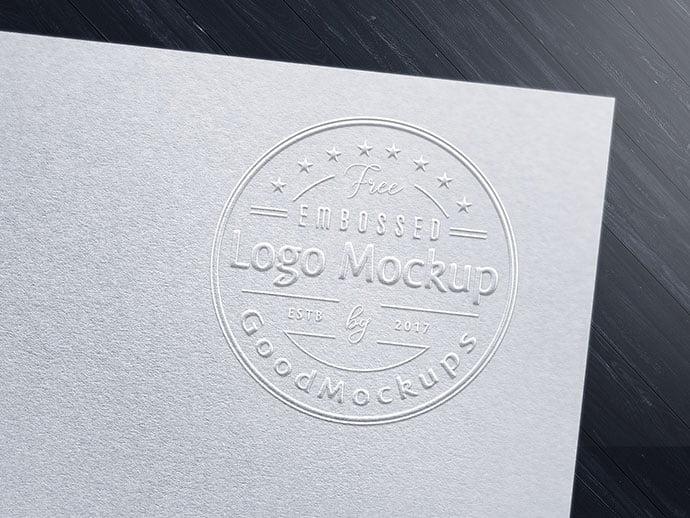 Fancy-Art-Card-Embossed - 40+ Nice Free PSD Showcase Logo For Designer [year]