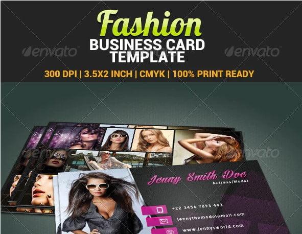Fashion - 31+ Awesome Free Tattoo Business Card Designs 2020