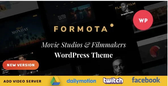 Formota - 35+ Nice Videographers & Cinematographers WordPress Themes [year]