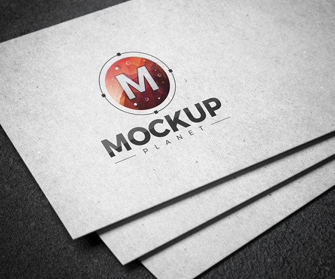 Free-Branding-Texture-Card - 40+ Nice Free PSD Showcase Logo For Designer [year]
