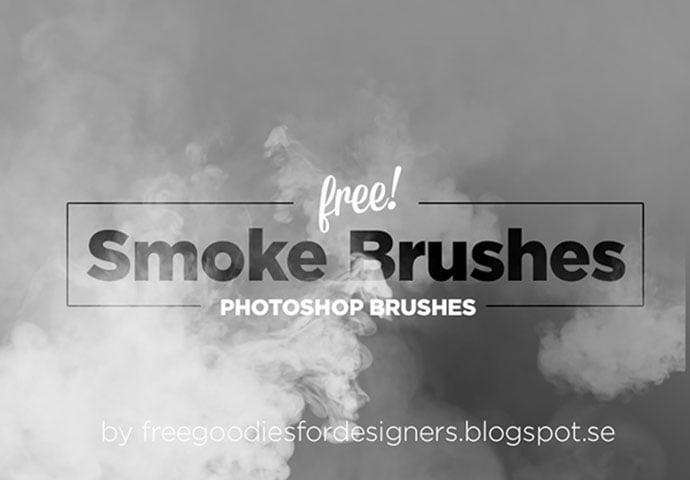 Free-Smoke-Photoshop-Brushes - 44+ Nice Free Photoshop Brush Sets For Designer [year]