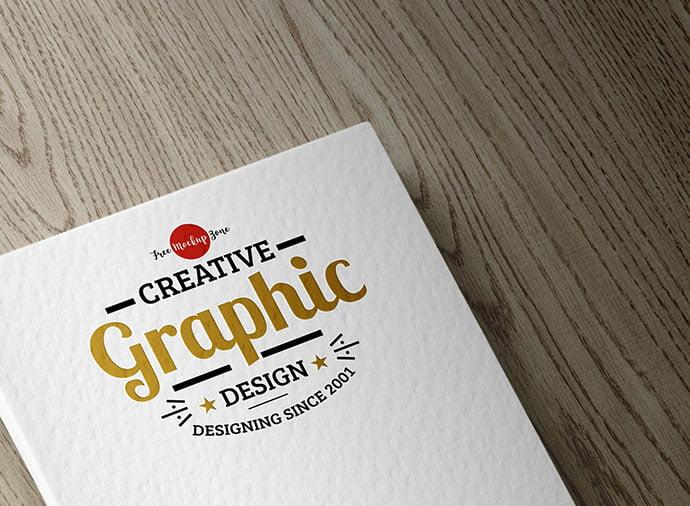 Free-Textured-Logo-Mockup - 40+ Nice Free PSD Showcase Logo For Designer [year]