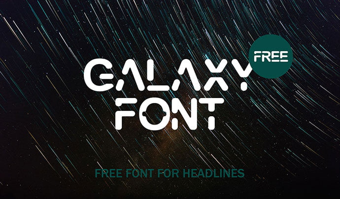 Galaxy-Font - 43+ Important Free Fonts Collection [UPDATE 2020]