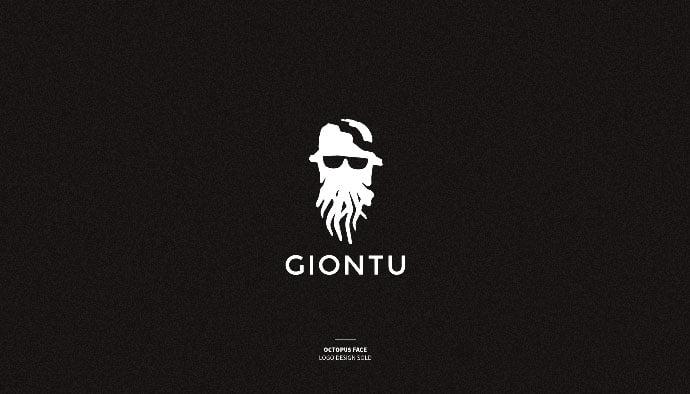 Giontu - 33+ Free Awesome Portrait Logo Designs Sample [year]