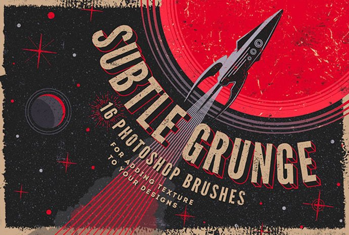 Grunge-Photoshop-Brushes-Kit - 44+ Nice Free Photoshop Brush Sets For Designer [year]