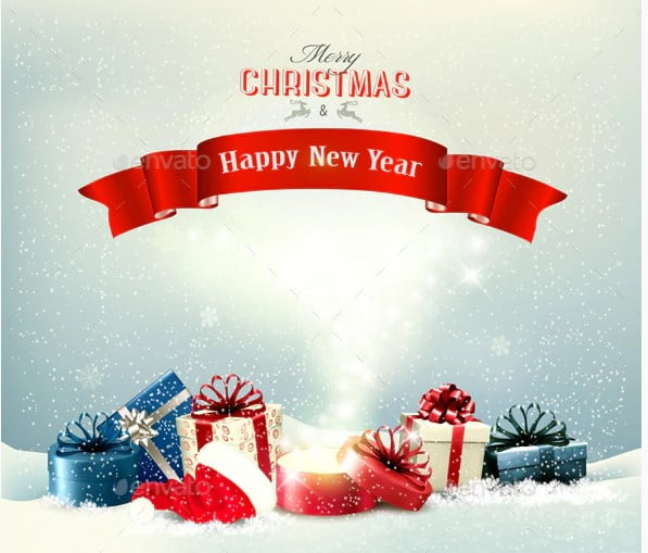 Holiday-Christmas-Background - 37+ Awesome Christmas Backgrounds, Patterns [year]