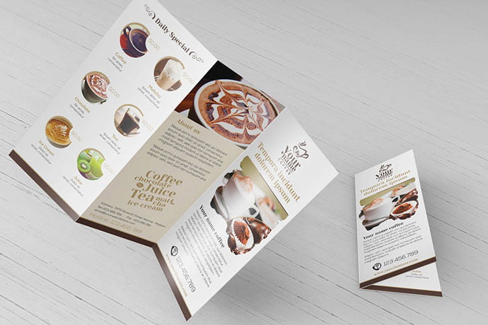 Ice-coffee - 33+ Awesome Brochure Design For Coffee Shop [year]