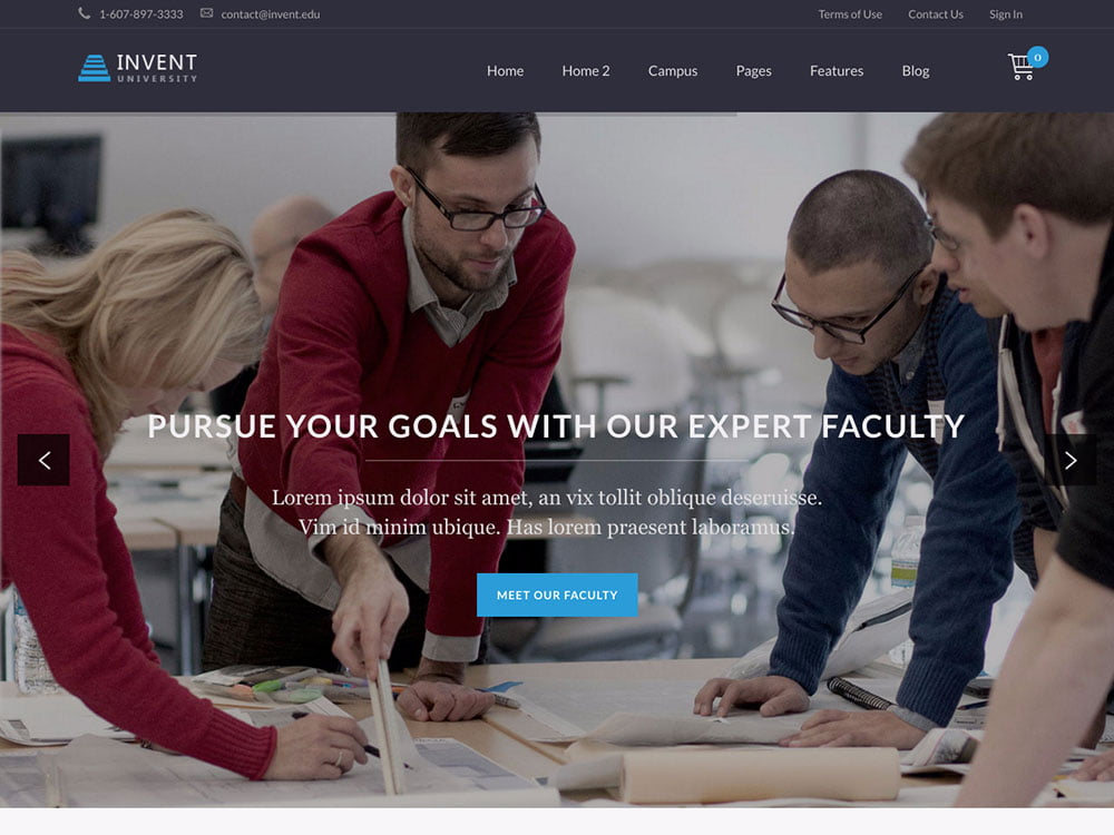 Invent - 30+ Awesome LMS WordPress Themes & Plugins [year]