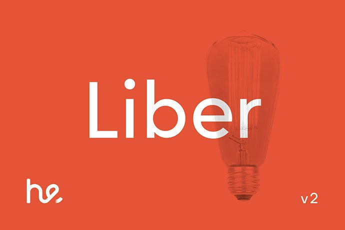 Liber - 45+ Amazing Sans Serif Fonts For Minimalist Designs [year]