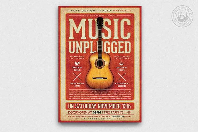 Live-Concert-Flyer-Template-V13 - 48+ Lovely Flyer & Poster Design Templates [year]