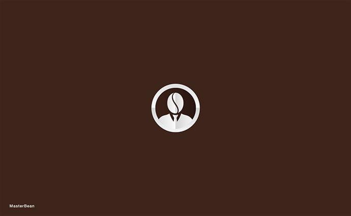 Master-Bean - 33+ Free Awesome Portrait Logo Designs Sample [year]