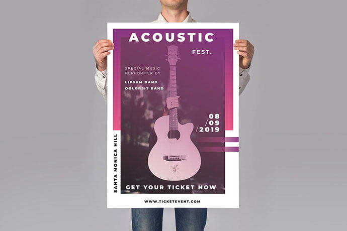 Music-Flyer - 48+ Lovely Flyer & Poster Design Templates [year]