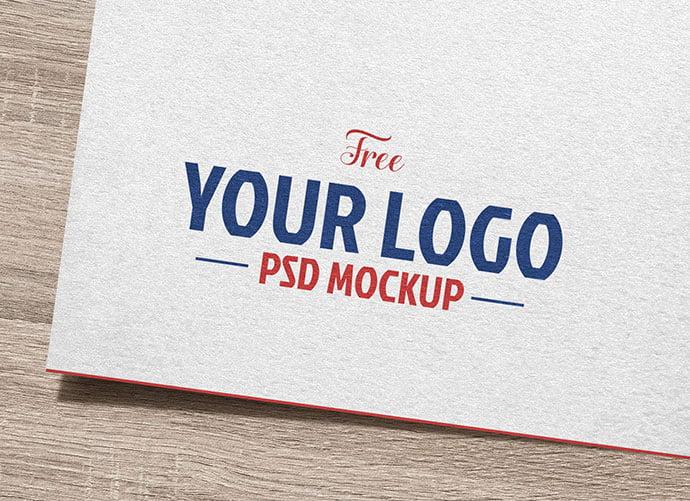 Natural-White-Paper - 40+ Nice Free PSD Showcase Logo For Designer [year]