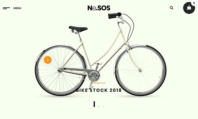 NeSOS - 29+ Best Bike Store Responsive WordPress Themes [year]