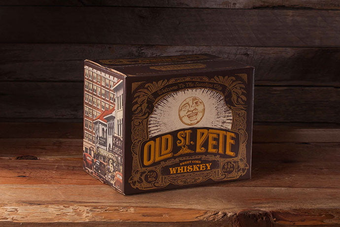 Old-St.-Pete-Craft-Spirits - 38+ Free Brilliant Retro & Vintage Brand Designs [year]