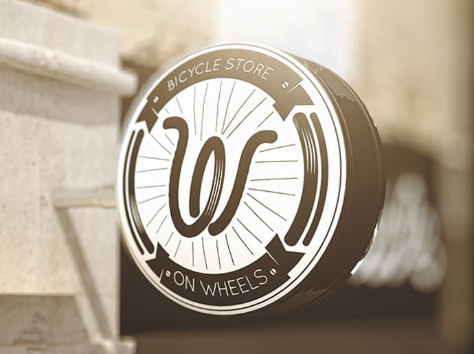On-Wheels - 38+ Free Brilliant Retro & Vintage Brand Designs [year]
