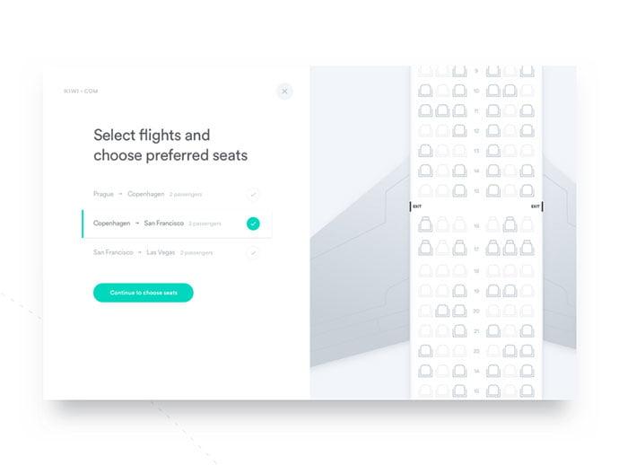 Pick-a-seat
