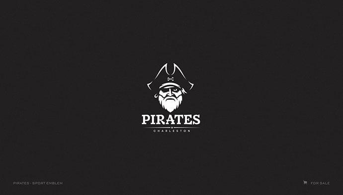 Pirates - 33+ Free Awesome Portrait Logo Designs Sample [year]