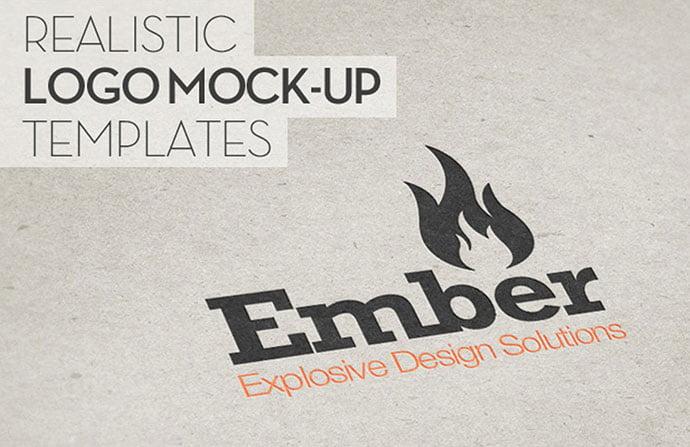 Printed-Logo-Mockups-Pack - 40+ Nice Free PSD Showcase Logo For Designer [year]