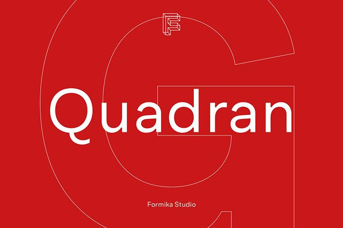Quadran - 45+ Amazing Sans Serif Fonts For Minimalist Designs [year]