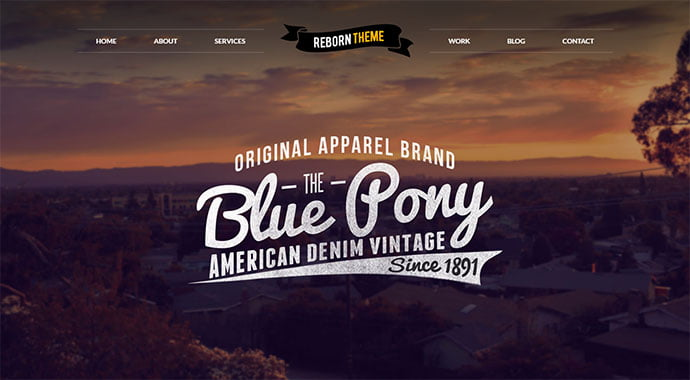 Reborn - 32+ Impressive Retro Cool WordPress Themes [year]