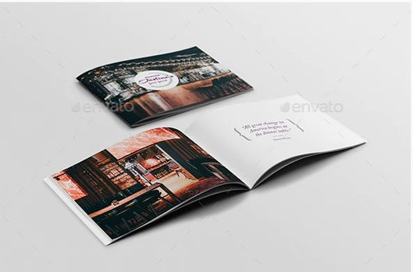 Restaurant-Brochure - 33+ Awesome Brochure Design For Coffee Shop [year]