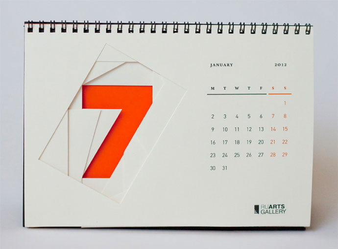 Ruarts-Gallery - 38+ Free Innovative Calendar Design Example [year]