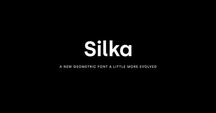 Silka-Font - 45+ Amazing Sans Serif Fonts For Minimalist Designs [year]