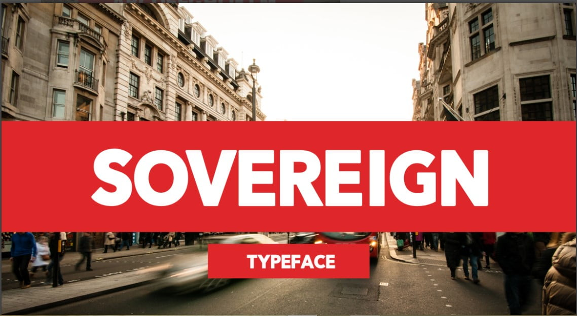 Sovereign-Typeface - 43+ Important Free Fonts Collection [UPDATE 2020]