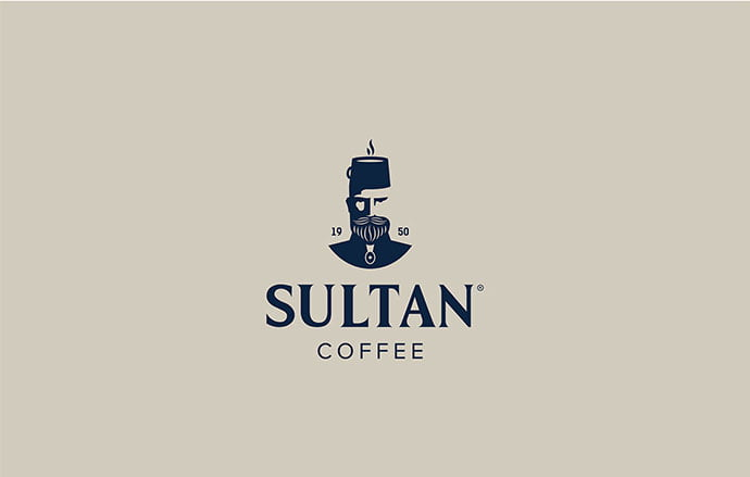 Sultan-Coffee - 33+ Free Awesome Portrait Logo Designs Sample [year]