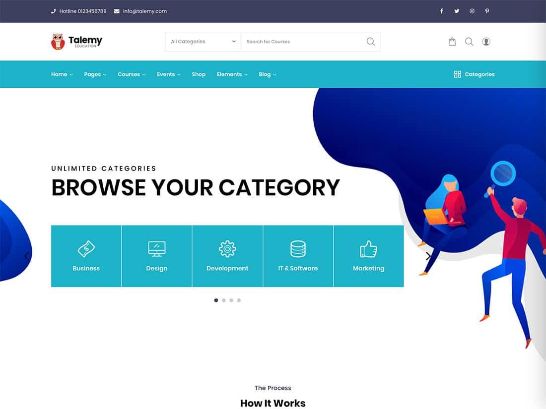 Talemy - 30+ Awesome LMS WordPress Themes & Plugins [year]