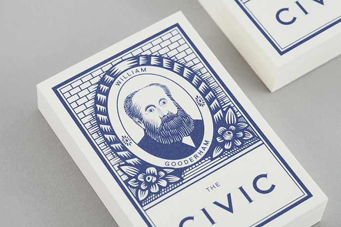 The-Civic - 33+ Free Awesome Portrait Logo Designs Sample [year]