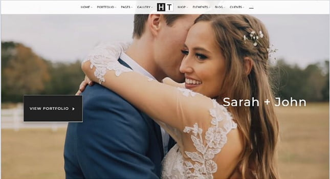 The-Halftoon - 35+ Nice Videographers & Cinematographers WordPress Themes [year]