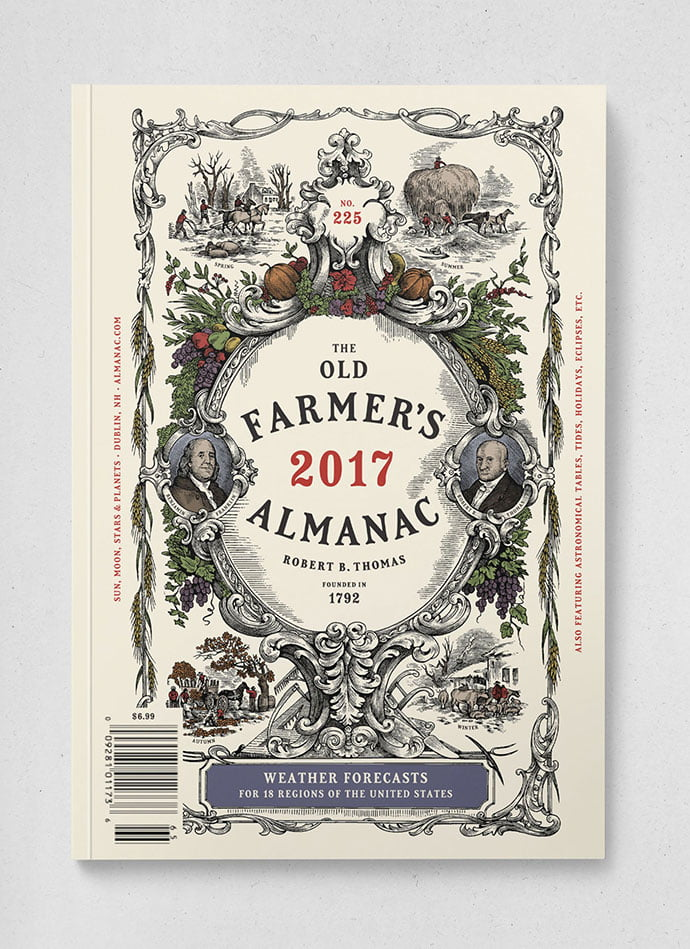 The-Old-Farmer's-Almanac - 38+ Free Brilliant Retro & Vintage Brand Designs [year]