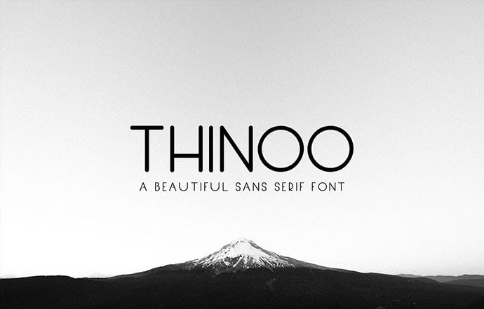 Thinoo - 43+ Important Free Fonts Collection [UPDATE 2020]