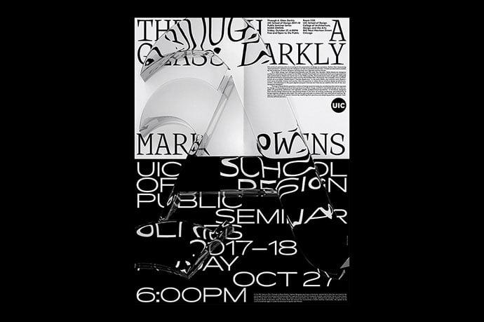 Through-A-Glass-Darkly-Identity - 38+ FREE Distorted Typography Designs [year]