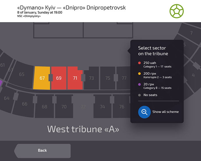 Ticket-Purchase-Screen - 53+ NICE Free Seat Reservation App UI Design IDEA [year]
