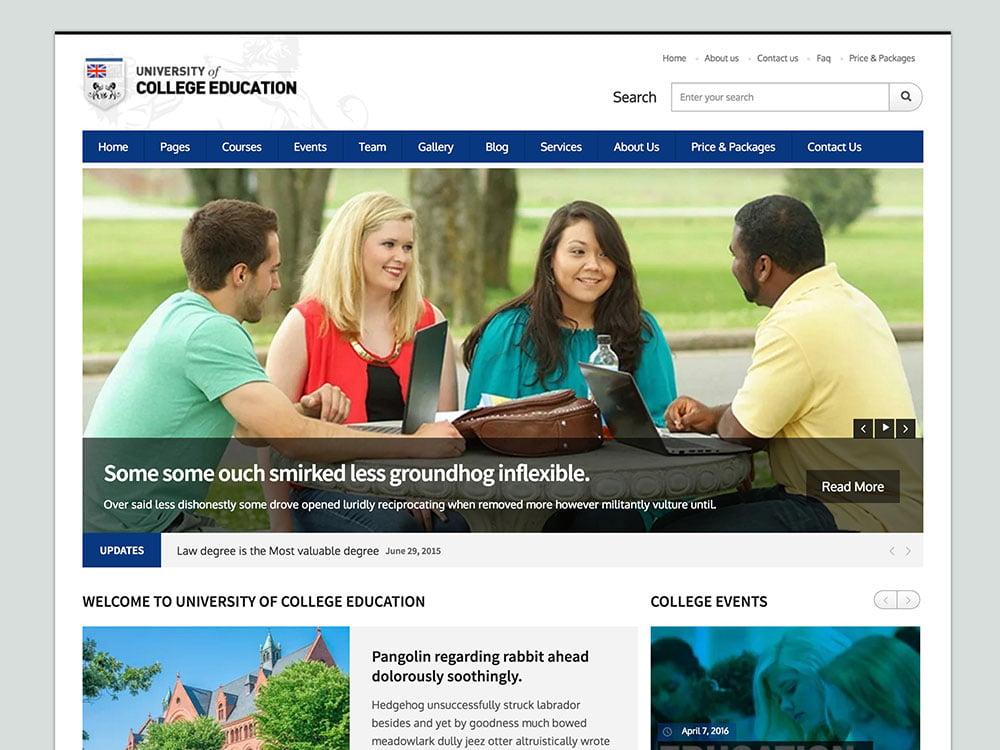 University - 30+ Awesome LMS WordPress Themes & Plugins [year]